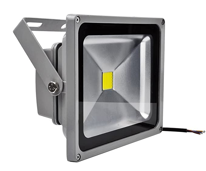 FIT ENERGY-PROYECTOR LED 30W GRIS: Amazon.es: Iluminación