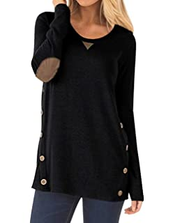 Amazon.com: TITAME - Sudadera de manga larga para mujer ...