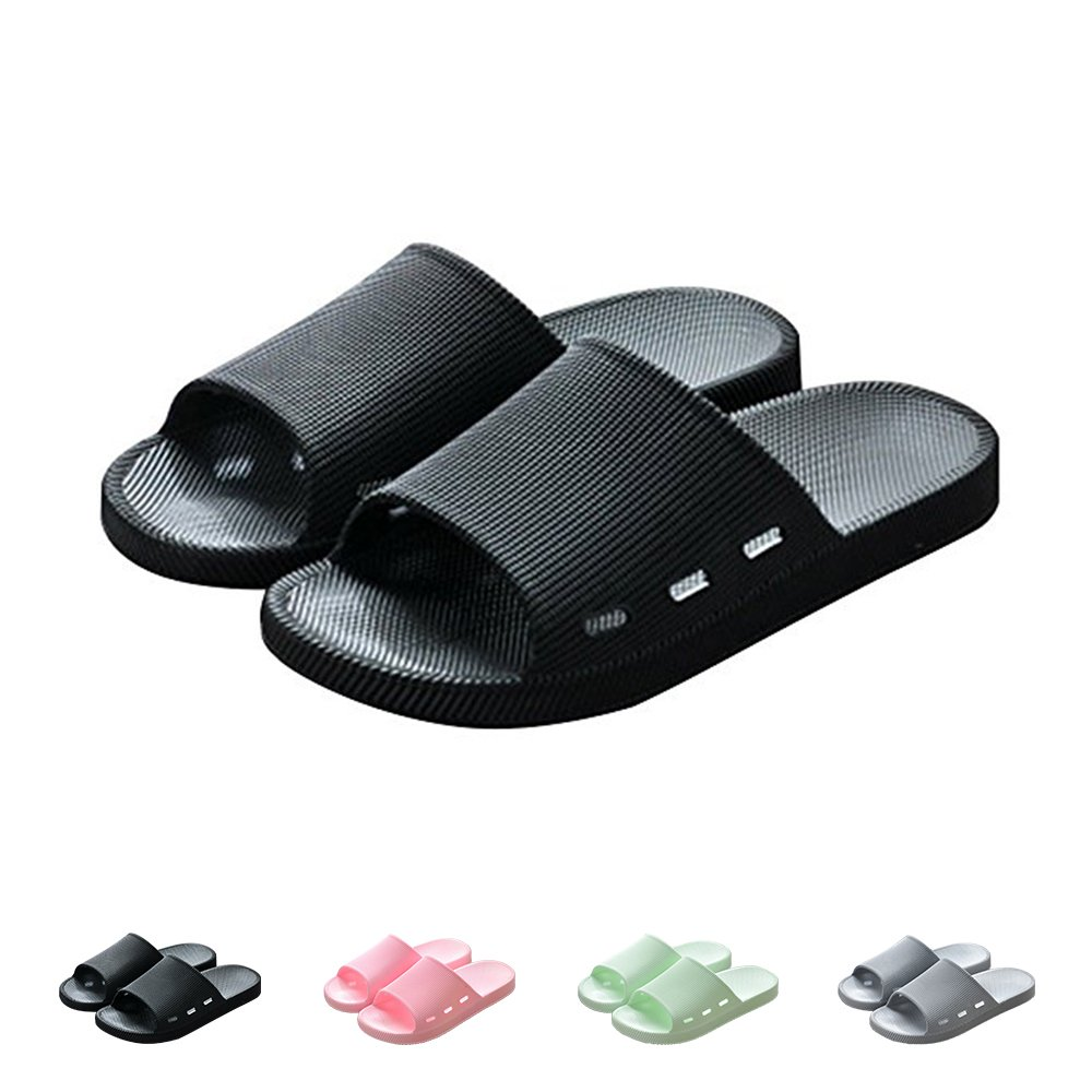 WILLIAM&KATE Summer Colorful Slippers Indoor Anti-Slip Shower Sandals Slippers