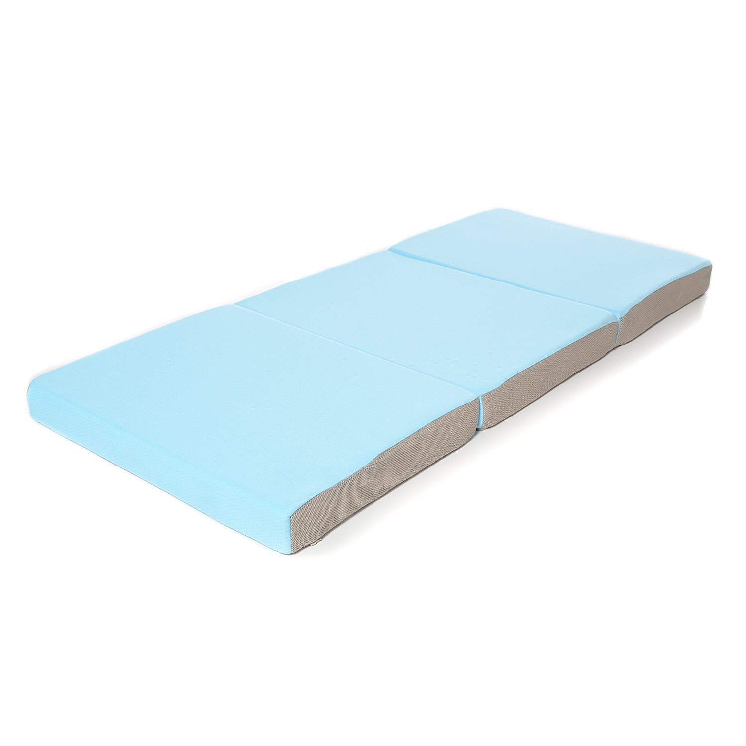 Milliard Toddler Nap Mat, Folding Foam Mattress with Soft Removable Cover - High Density Foam (24 x 57 x 3 inches)