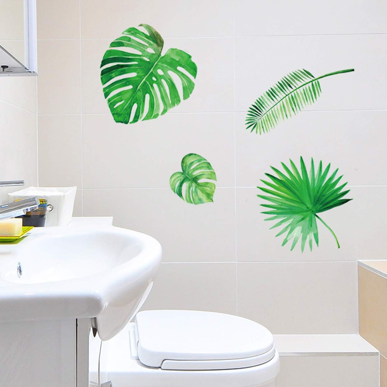 Palm Leaf Jungle Stickers