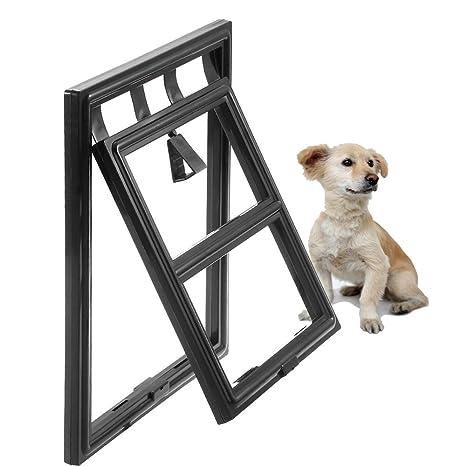 Namsan magnético automático bloqueo/puerta de cachorro con cerradura Gato Protector de puerta gato puerta