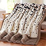 Raschel Blanket Weighted Fleece Napping Throw Snuggle Reduce Anxiety Help Autism Bed Couch Cozy Warm Smooth Heavy Thanksgiving Wedding Christmas Birthday Gift,King,220240cm 5kg