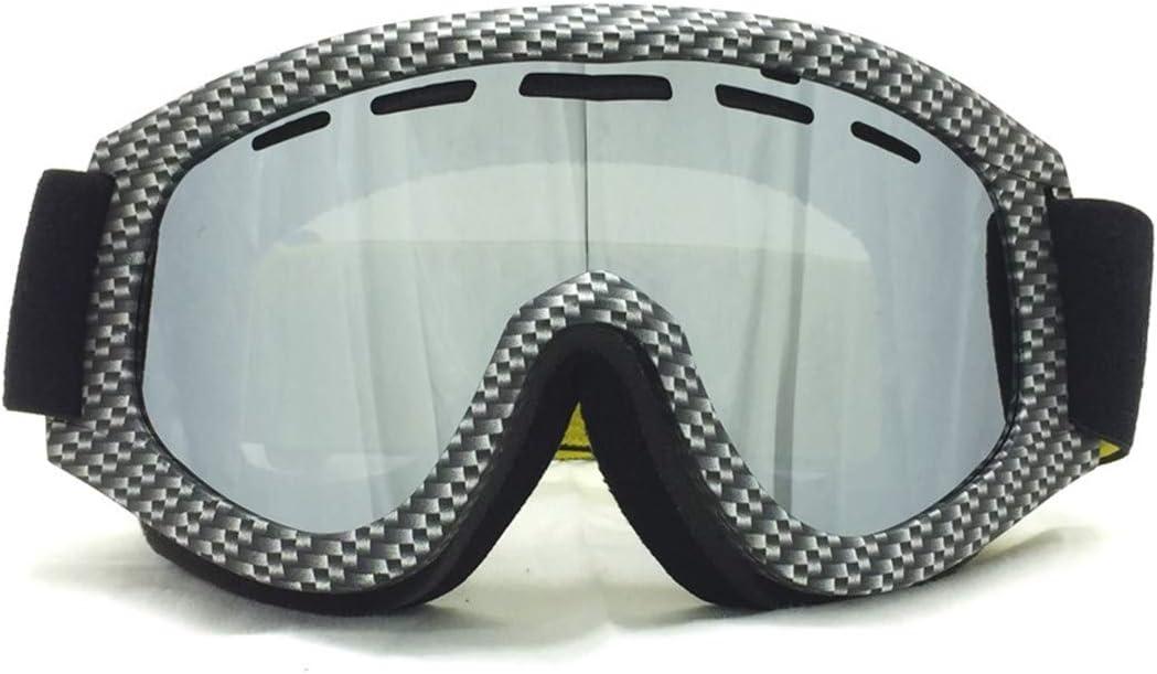 AL-Marnoeist Gafas esquí Gafas Motocross Motocross Hombres Mujeres Ciclismo a Prueba Viento Gafas protección UV400 Anti-Niebla esquí Gafas