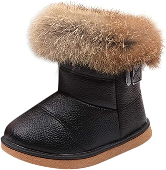 Toddler Baby Girls Boys Snow Boots Fall