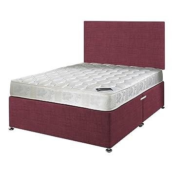 Happy Beds Etoiles Matelas A Ressorts Bonnell Avec Sommier Uni Tete