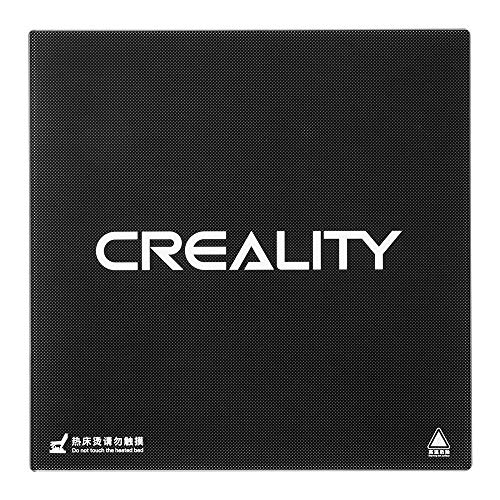 Official Creality 3D Ender 3 Ender 3 Pro Ender 5 Tempered Glass Upgraded Build Plate Printing Surface for Heated Bed 235x235x3mm