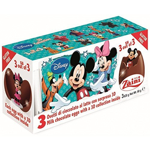 CHOCOLATE EGGS 3-PACK MICKY