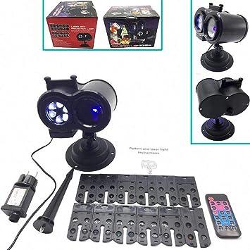 Proyector De Caleidoscopio LED Proyectando Control Remoto Lámpara ...