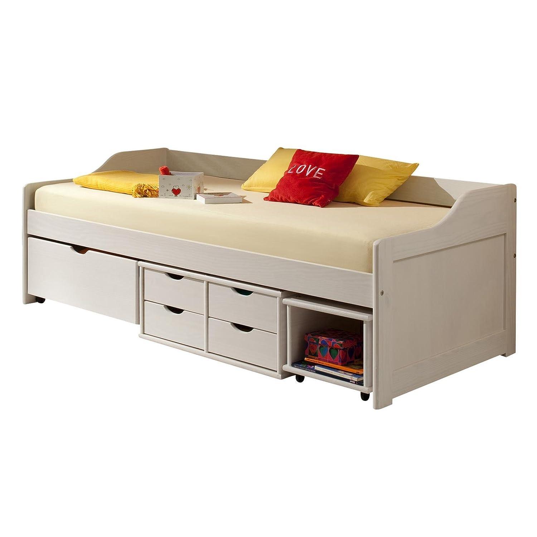 bett wei 90x200 mit schubladen fabulous bett weiss schubladen weiss ohne wunderbar weiaes bett. Black Bedroom Furniture Sets. Home Design Ideas