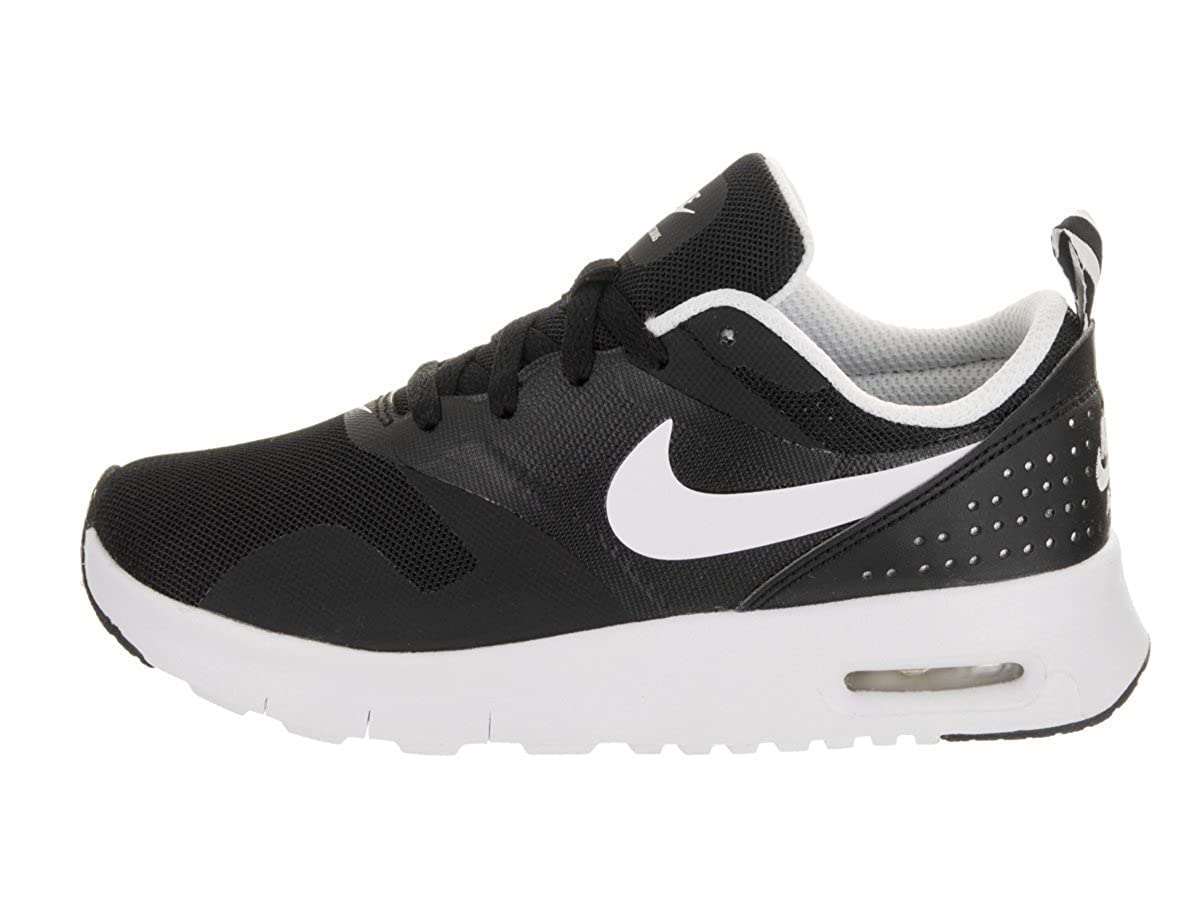 new product 77d48 e8143 Amazon.com   Nike Air Max Tavas Little Kids Style   844104 Little Kids  844104-001 Size 11 Black White   Running