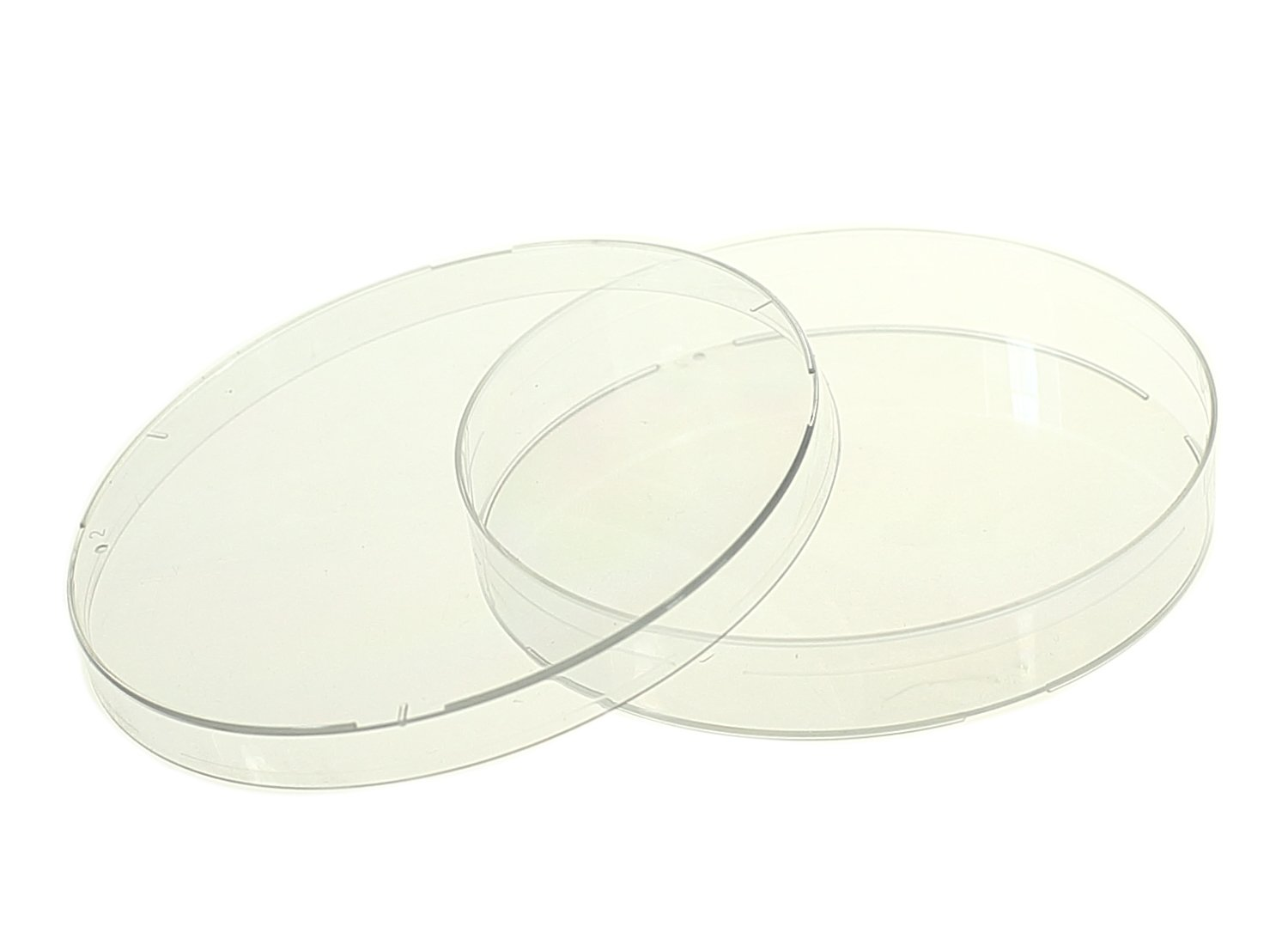 Nest Scientific 753001 Polystyrene Petri Dish, Semi-Stackable, Sterile, 100 mm x 15 mm, 20 per Bag, 500 per Case (Pack of 500) by Nest