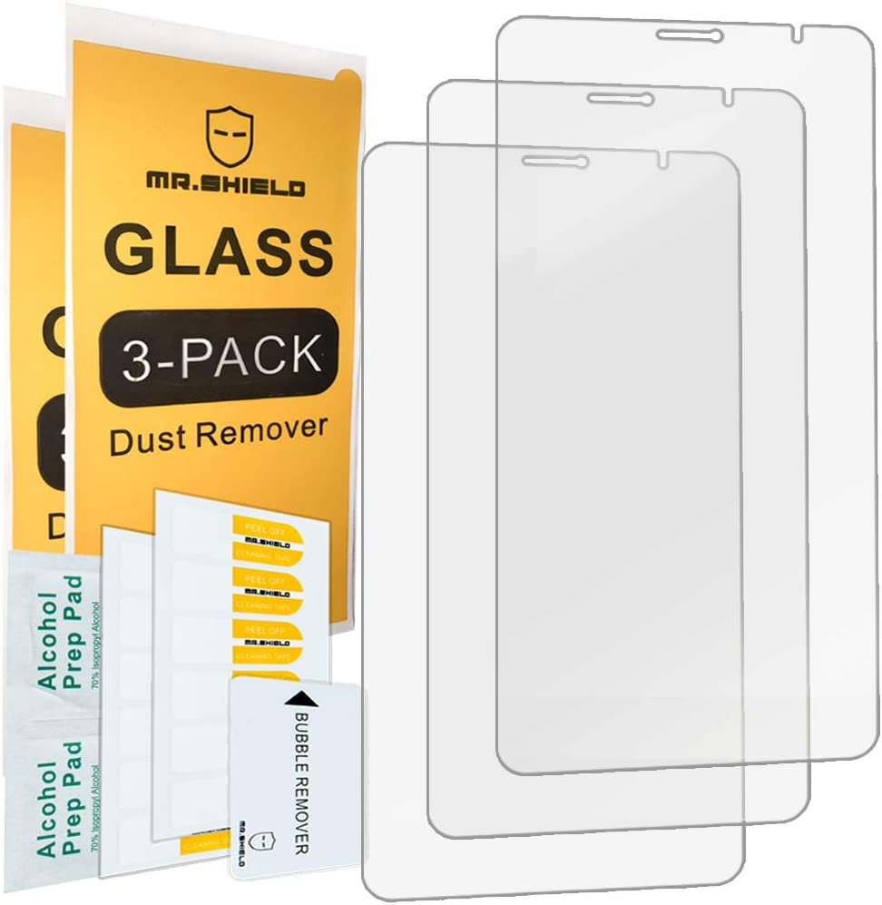 [3-PACK]-Mr.Shield For Lenovo Tab V7 [Tempered Glass] Screen Protector with Lifetime Replacement