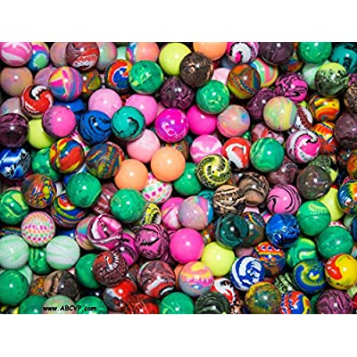 Rhode Island Novelty, ASSORTED 27MM Bouncy Balls (250 count): Toys & Games