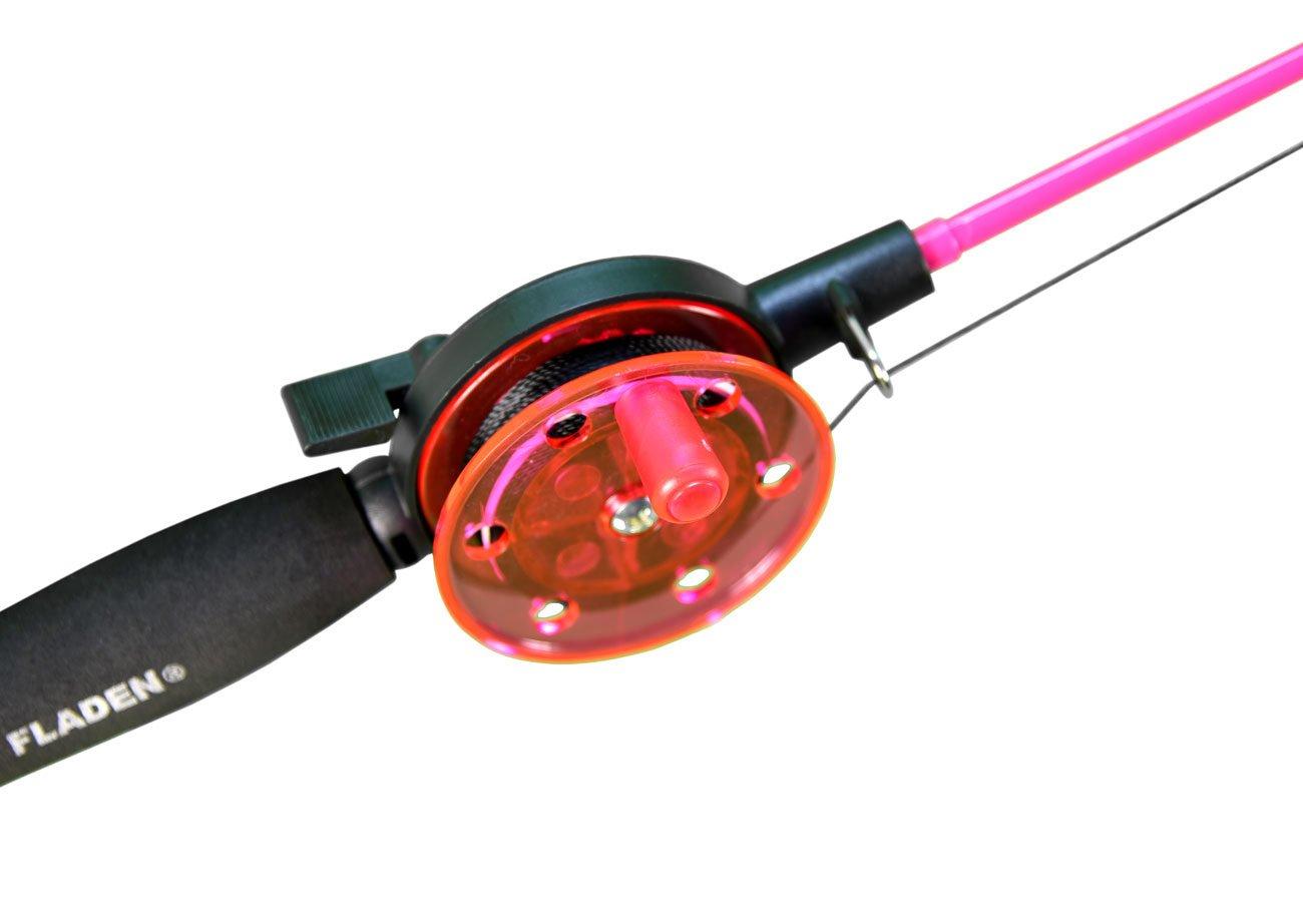 Fladen fishing kinder angel krebsangel schwarz pink grün cm