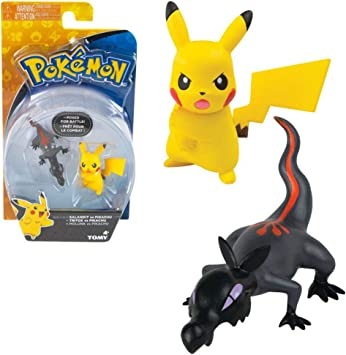 TOMY Selección Battle Pack | Pokemon 2 Piezas Conjunto | Figuras ...
