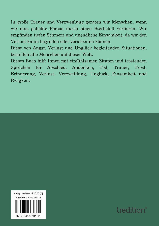 Trost Und Zuspruch Im Trauerfall Amazonde Gisela Stecker