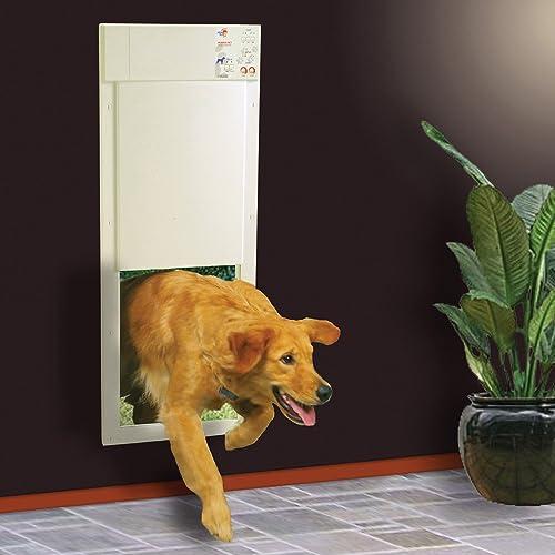 Best electronic pet door: High Tech Pet Power Pet Electronic Pet Door