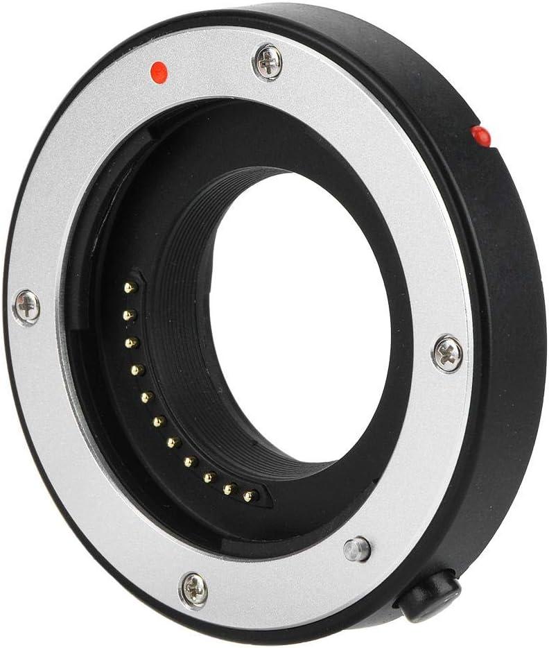 Taidda Camera Adapter Aluminium Alloy Sturdy Durable Auto Focusing Lens Mount Adapter 10mm-16mm for M 4//3 Mount Camera Lens