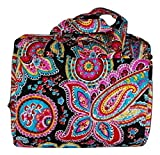Vera Bradley Hanging Travel Organizer (Parisian Paisley with Black Interior)