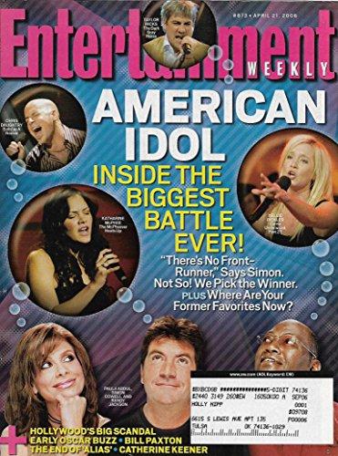 Kellie Idol Pickler (Entertainment Weekly Magazine - April 21, 2006 - Katharine McPhee, Chris Daughtry, Kellie Pickler, Taylor Hicks (American Idol))