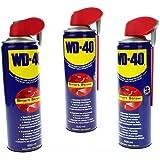 3 x 500 ml WD-40 multifunctionele spray multifunctionele olie voor Smart STRAW 41034