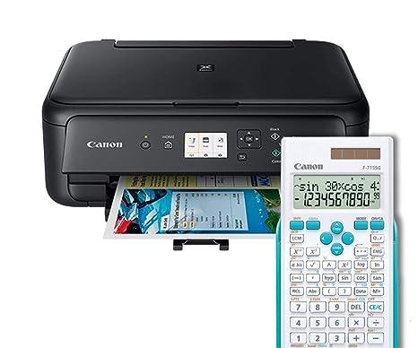 CANON PIXMA TS5150 Negro Impresora MULTIFUNCIÓN INALÁMBRICA Avanzada + CALCULADORA