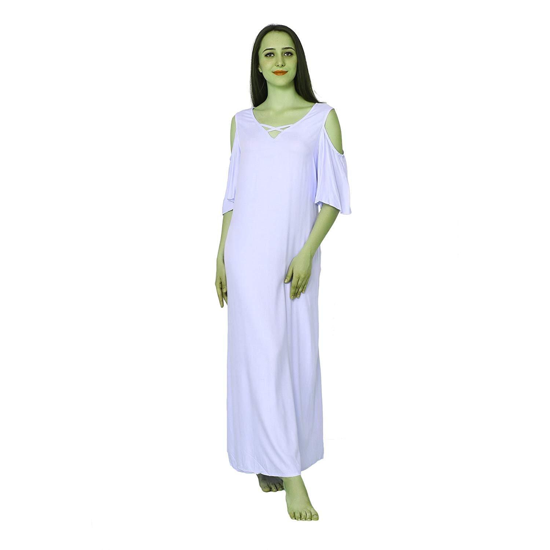 RADANYA Frauen Sommerkleid Nachtkleid Tunika Stil Nachthemd für Damen s-5xl