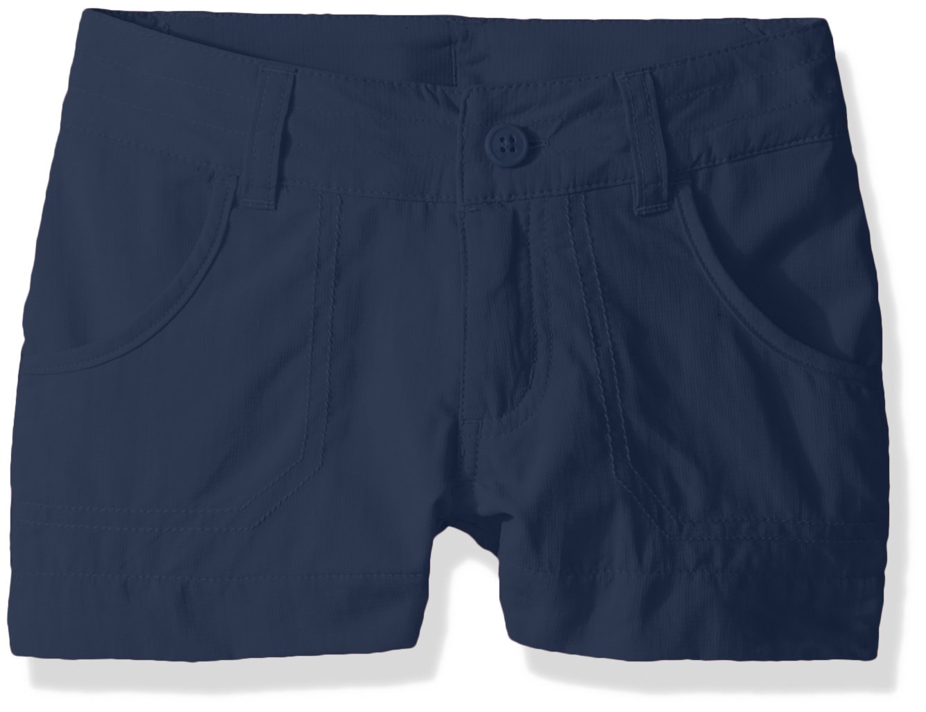 Columbia Girls Silver Ridge III Shorts, Carbon, X-Small by Columbia