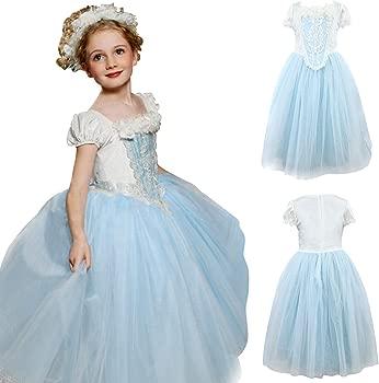 Disco Ball Princesa Disfraz Frozen Elsa Anna Carnaval Navidad Halloween Cosplay Party verkleidung con ribete de piel Cape