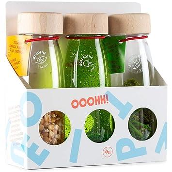 PETIT BOUM - Pack de 3 Botellas sensoriales de Sonido ...