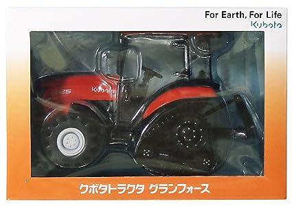 Amazon.com: Kubota 1/24 Kubota Tractor Gran Fuerza FT25 ...