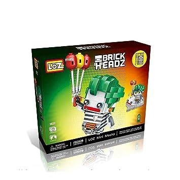 Loz Brickheadz Joker Balloon Escape Juego de Nanobloques de ...