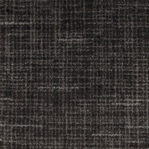 Cheap 12'x16′ Stitches Black Linen Indoor Cut Pile Pattern Area Rug for Home with Premium BOUND Polyester Edges.