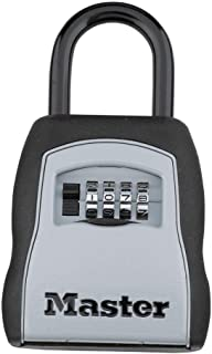 product image for Master Lock 5400D Set Your Own Combination Portable Lock Box, 5 Key Capacity, Black (4 Pack)