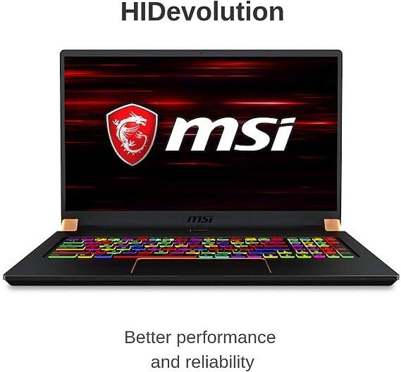 MSI GS75 Stealth-480 64GB RAM laptop