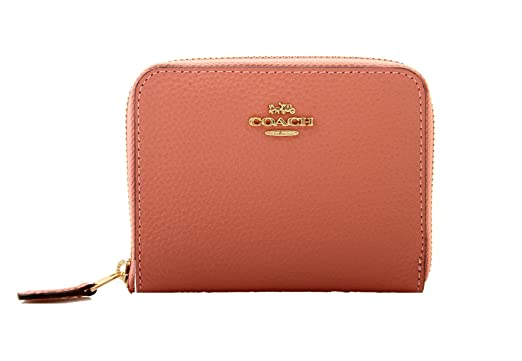 9cfee1e31ece Image Unavailable. Image not available for. Color  COACH Small Zip Around  Wallet