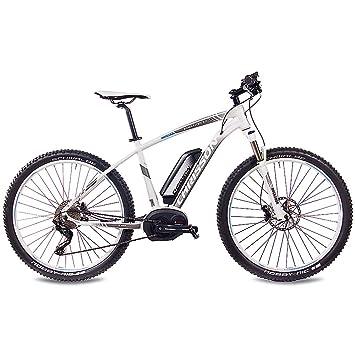 Chrisson 275 Zoll E Bike Mountainbike Bosch E Mounter 30 Weiss
