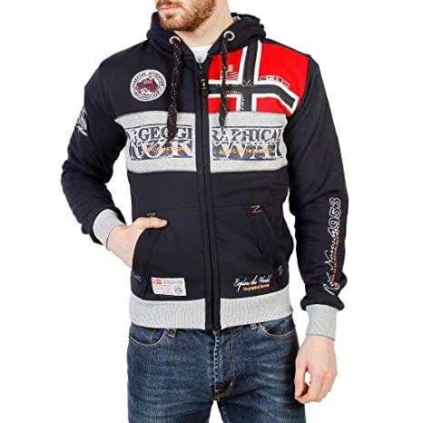 Geographical Norway Sudadera Flyer_Man Hombre Color: Azul Talla: S