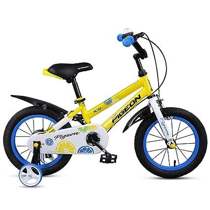 Xiaoping Bicicleta para Niños Niños 3-6 Años Portabebés Bicicleta para Niños 14 Pulgadas Bicicleta