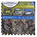 Home Innovations Anti Fatigue Interlocking Foam Tile Mats Camouflage (4 Pack)