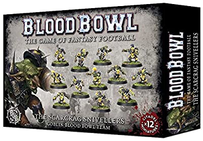 Blood Bowl The Game of Fantasy Football The Scarcrag Snivellers Goblin Team (12 Miniatures) from Games Workshop