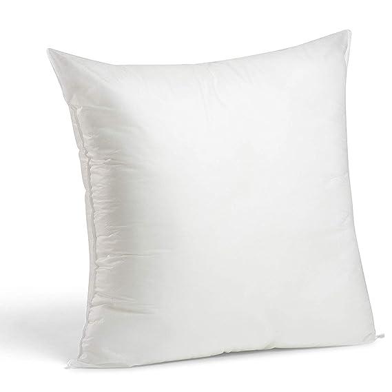 2 Rellenos cojines sofa hipoalergénicas para funda cojines decoracion y para almohadas de cama (50x50)