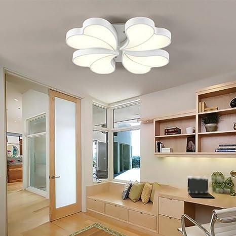Amazon.com: yayong luz de techo LED forma de corazón ...