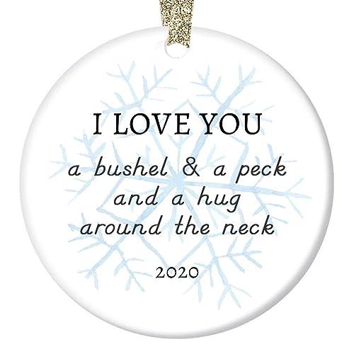 2020 Christmas Ornaments For Son Amazon.com: 2020 Christmas Ornament Ceramic Keepsake Parents to