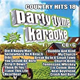 Party Tyme Karaoke - Country Hits 18 [16-song CD+G]