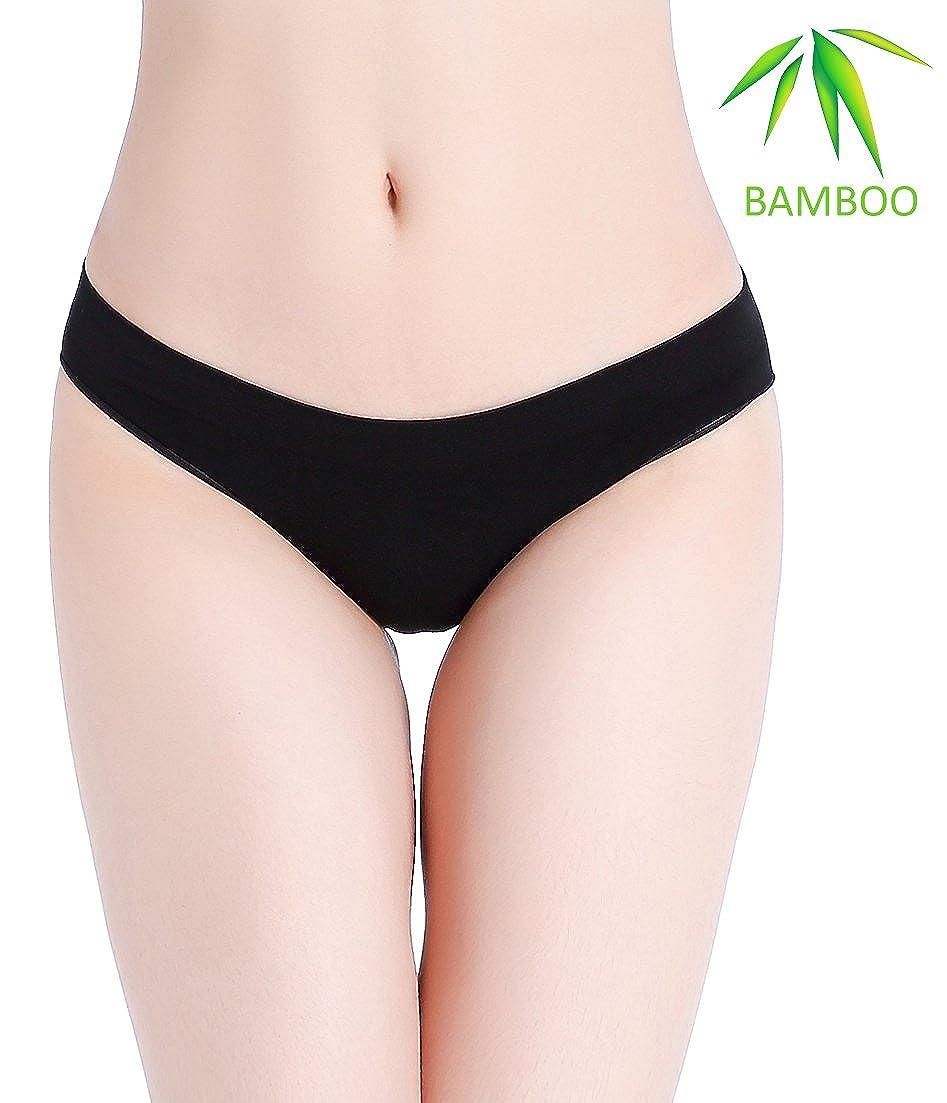Fispo Women's Bamboo Bikini Seamless