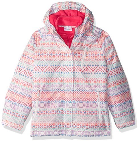 Girls' Jacket The Place Printed Simplywht 3 1 in Big Children's g181wfctq