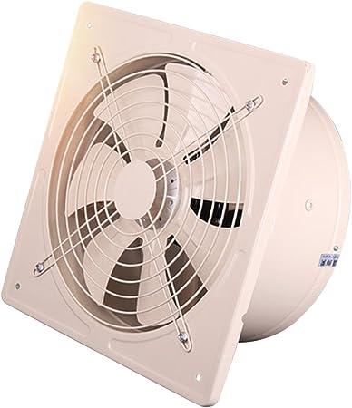 D DOLITY Extractor Silencioso Industrial de Alta Eficiencia Ventilador de Escape Soplador de Flujo de Aire de 8 Pulgadas - Blanco: Amazon.es: Hogar