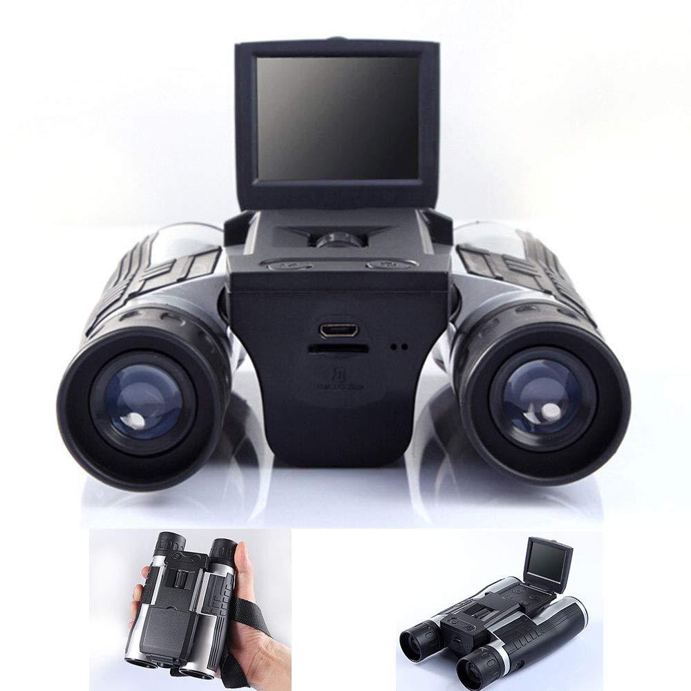 最新デザインの YMNL デジタル双眼鏡 カメラ望遠鏡 2.0インチLtps (4:3) カラーLCDディスプレイ 720p 30フレーム/秒写真レコーディングデュアル機能 バードフットボールゲームコンサート観戦用   B07KYL6RQ7, 坂内村 2d5a2bbe